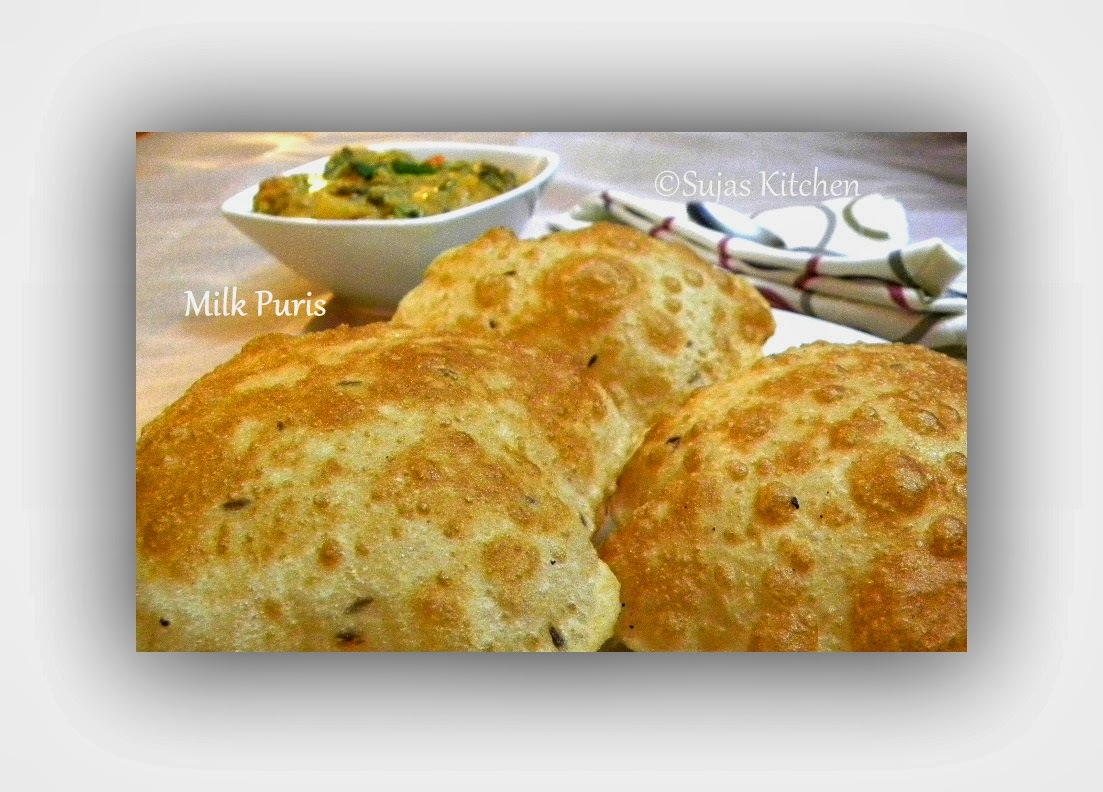 Milk Poori's - Fried Indian Flat bread