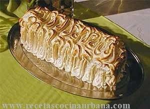 Como preparar pudin de chocolate y cubierta de merengue