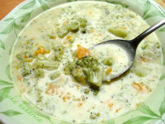 Juha od brokule sa sirom :: Broccoli and cheese soup