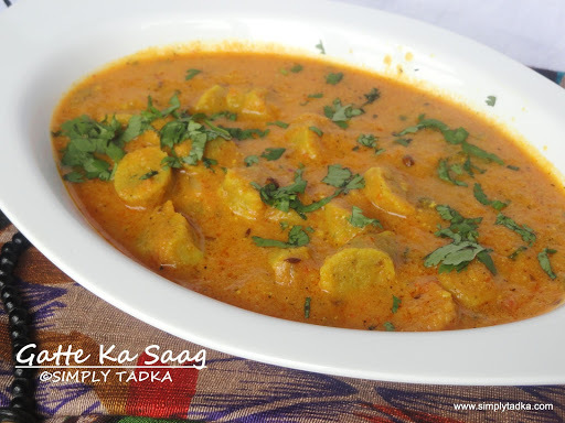 arbi ki sabzi with gravy