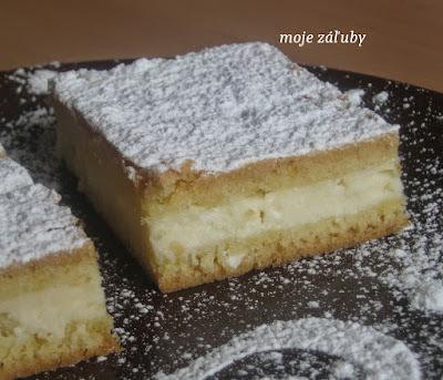 Jednoduchý tvarohový koláč