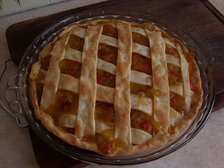 Tarta de calabaza, queso, morrón, cebolla...y lo que quieran agregarle...