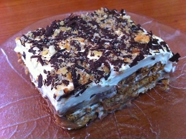 θεϊκό μπισκοτογλυκο σα τούρτα!