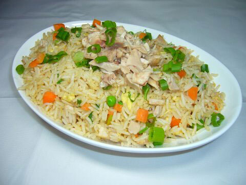Chinese Chicken Fried Rice Recipe