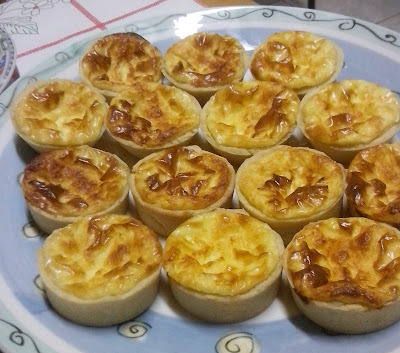 MINI QUICHE DE 3 QUEIJOS