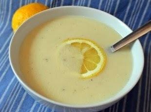 AVGOLEMONO - molho grego de ovos e limão