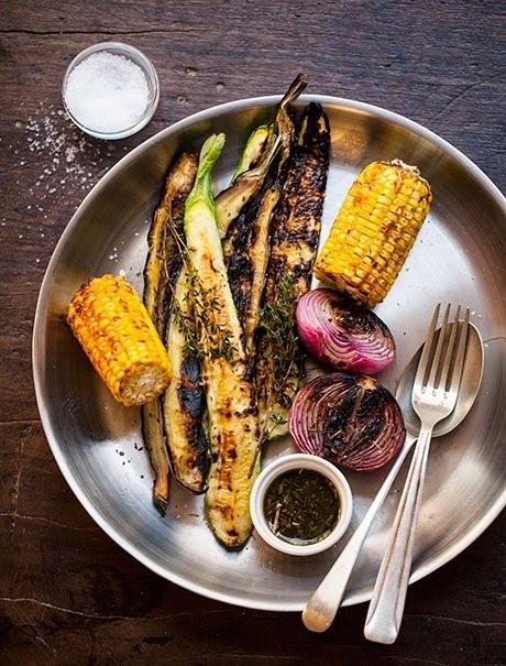 carne na chapa com legumes