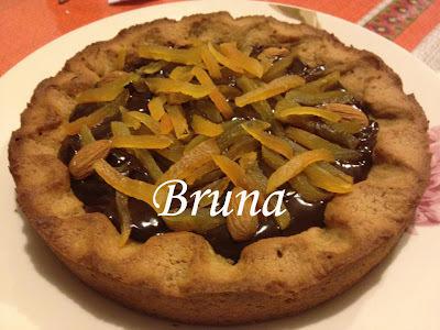 Torta cookies - feita pela minha filha Bruna