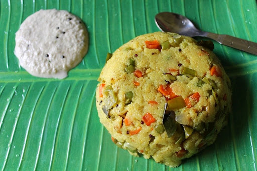 Vegetable Rava Upma / Sooji (Suji) Upma / Rava Kichadi / Sooji Kichadi - Breakfast Recipes