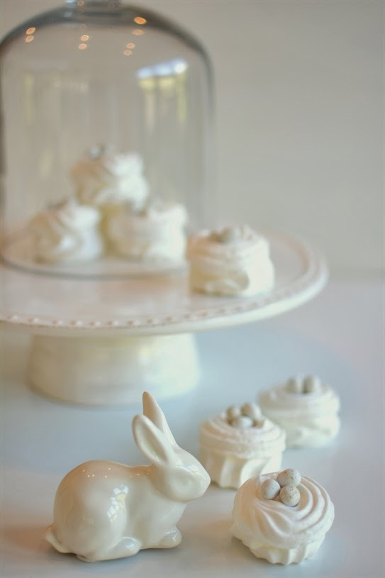 Easter Meringue Nests - 5 Minute (No Cook. Gluten Free)