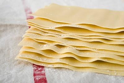 Masa de lasagna