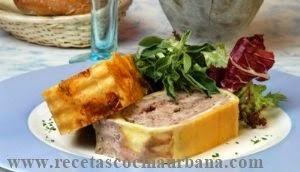 Como preparar paté de carne envuelto en hojaldre