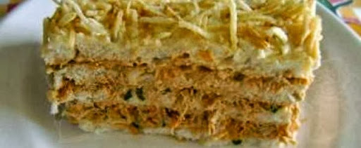 Torta Fria de Salpicão Diferente