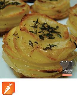 Batata Assada em Lâminas | Stack Potato