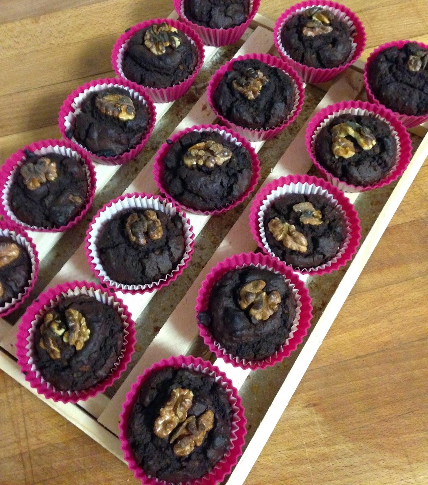 Brownie de alubias y chocolate