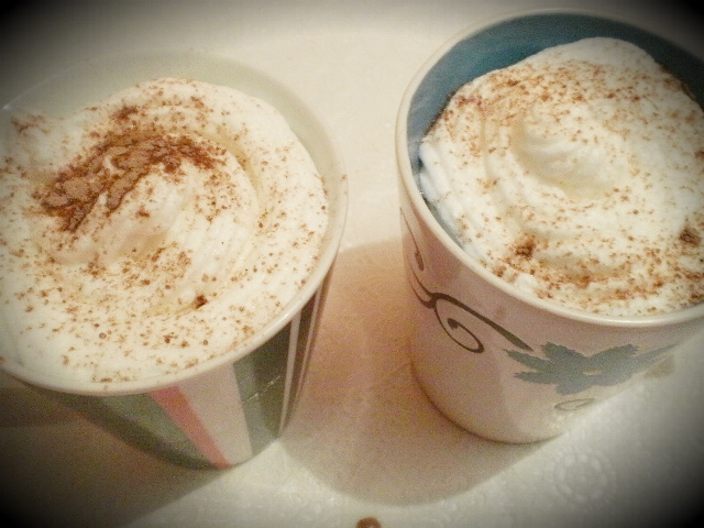 Chocolate quente!