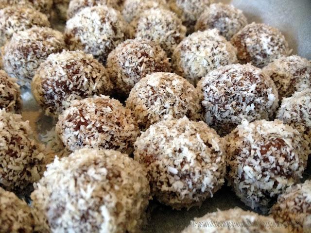Protein truffles (protein balls)