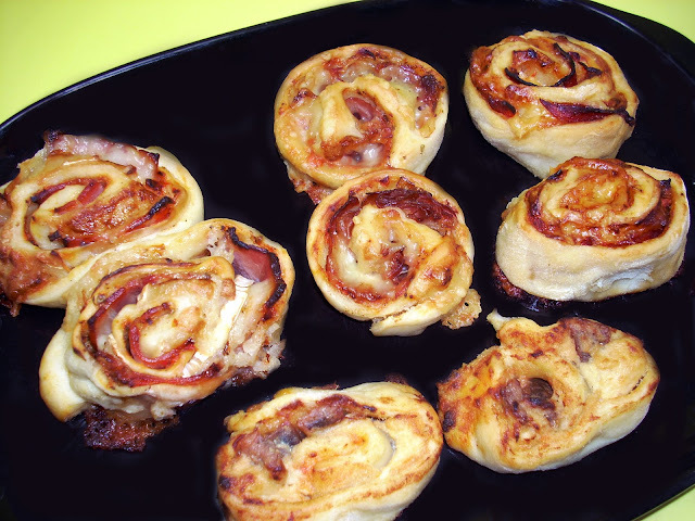 Rollitos de Pizza