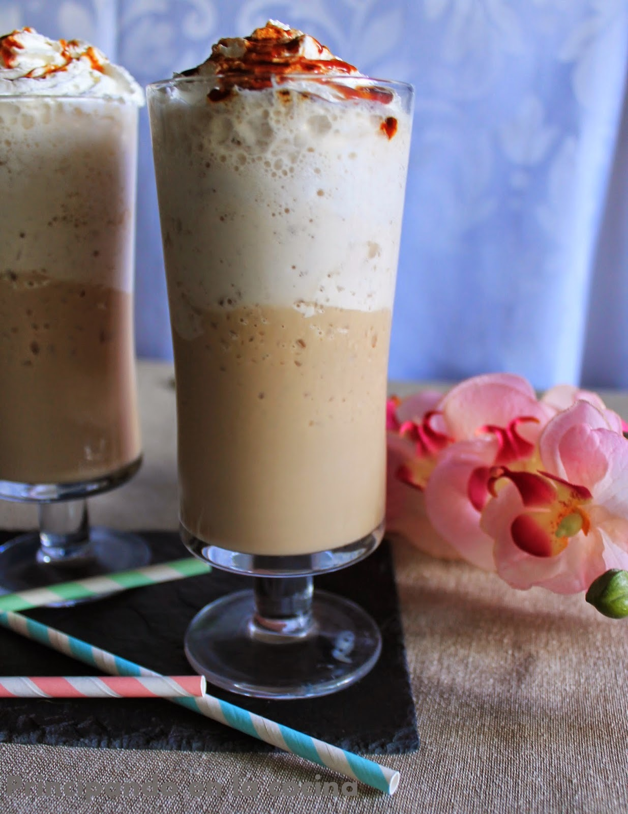 Frappe de chocolate blanco {Degustabox}