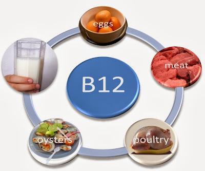 BENEFÍCIOS DA VITAMINA B12 AO ORGANISMO.