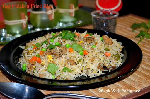 Egg Chicken Fried Rice