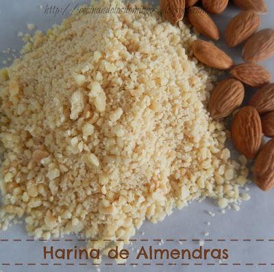 COMO HACER HARINA DE ALMENDRAS