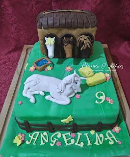 gâteaux anniversaire chevaux / horse cake