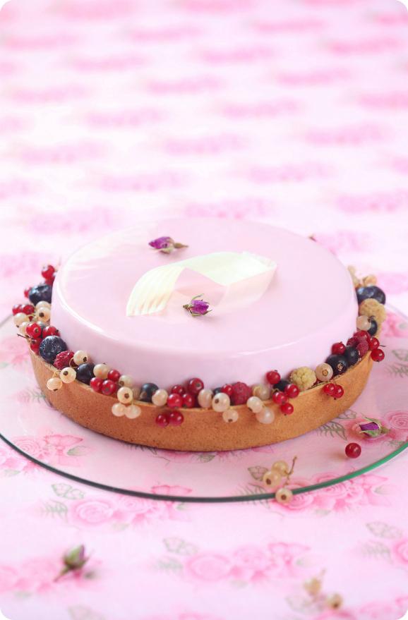 "Торт ""Розовая симфония"" / Torta ""Sinfonia Rosa"""