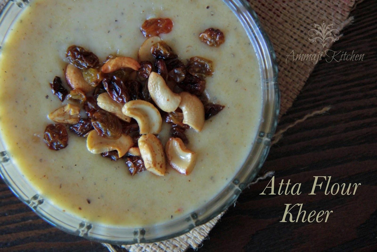 Atta Flour Kheer | Godhuma Pindi Payasam