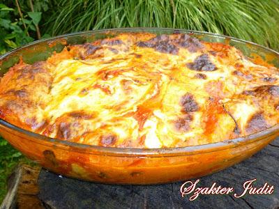 Húsos palacsinta olaszosan, Jutka konyhájából