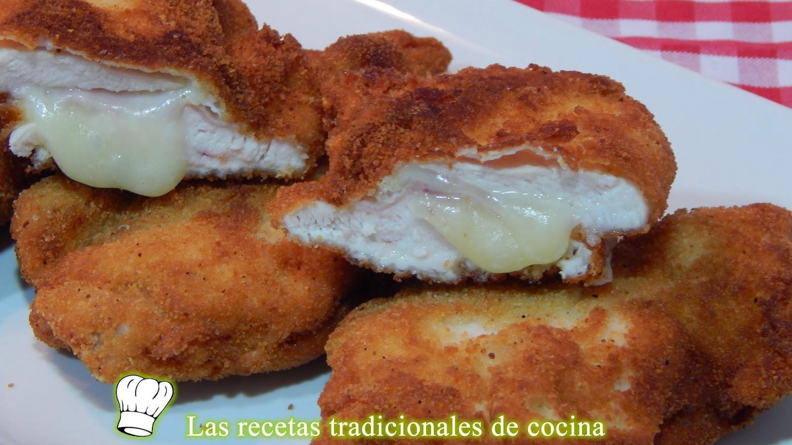 Pechugas de pollo rellenas receta fácil y rápida