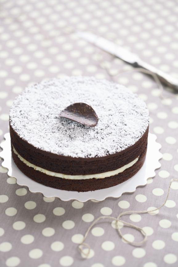 """Шоколадно-кокосовый торт """"Шифон"""" / Bolo Chiffon de chocolate e coco"""