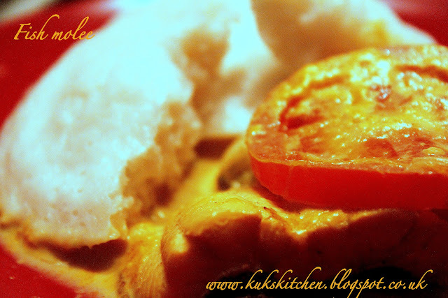 Fish Molee   |  Fish in coconut milk  |  Mild keralan fish curry |  Kukskitchen