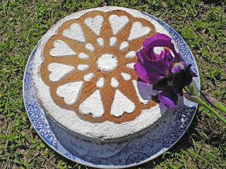 Torta de nuez con aceite de oliva