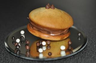 Whoopies pies au nutella