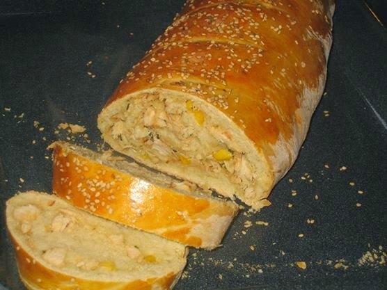 Pão Recheado da Tânia