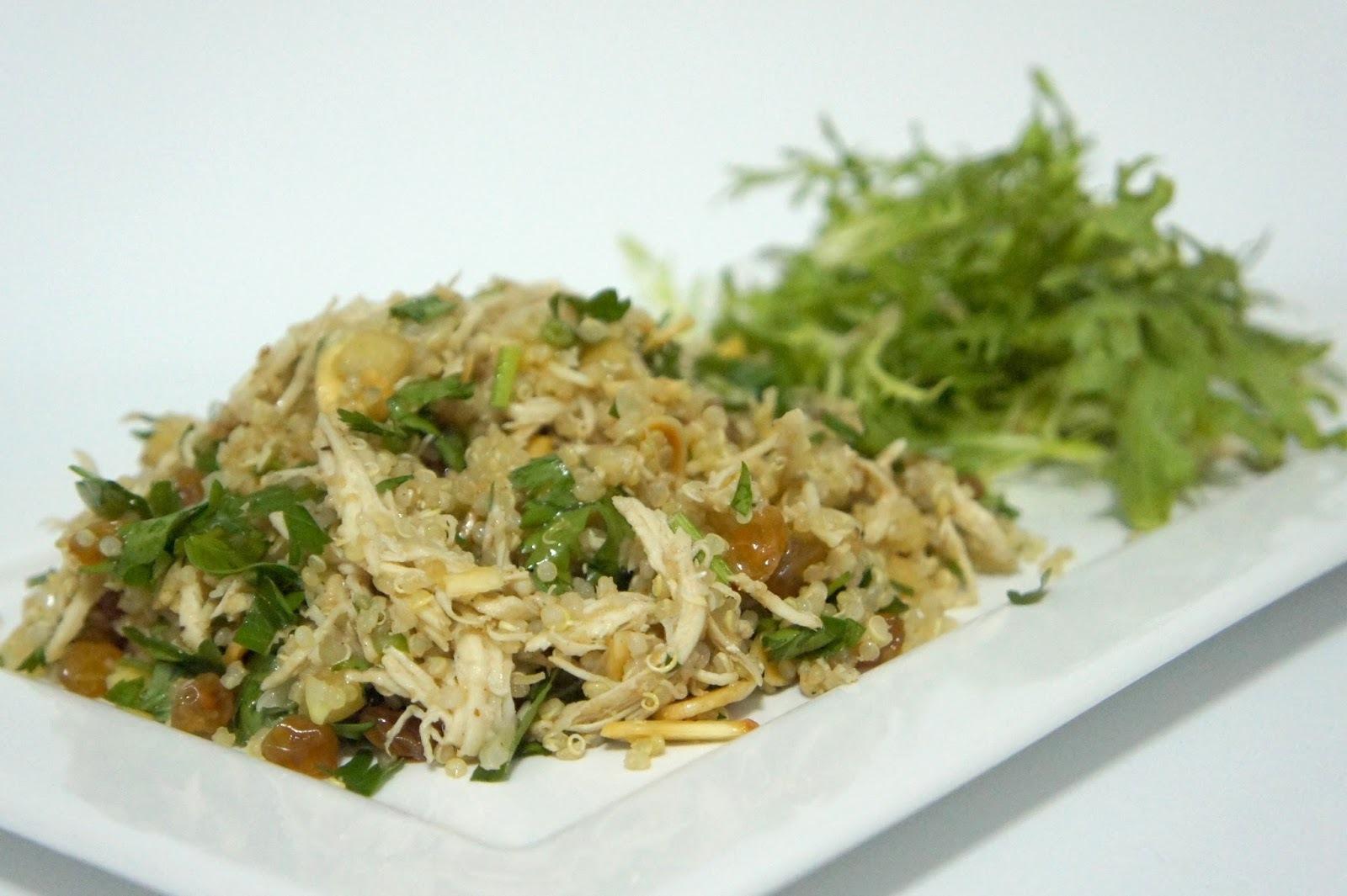 ingredientes para salada marroquina graos