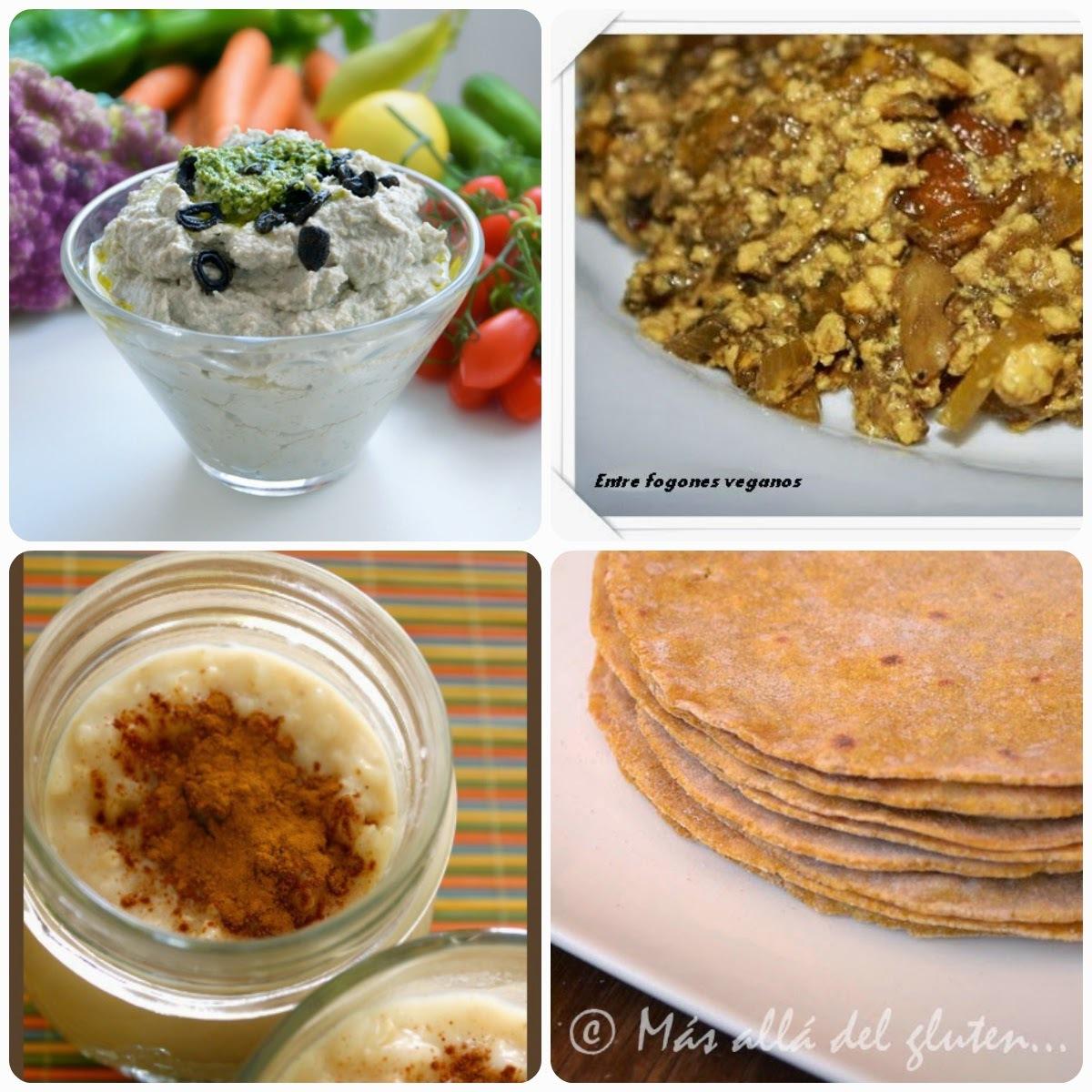 17 Menú vegetariano con recetas de otros blogs