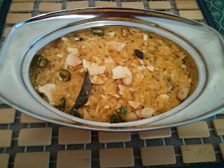 Papad Poha Chevdo/ crispy flatten disc and Flatten rice mix