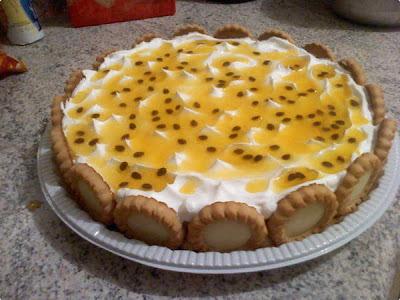Torta Fácil de Maracujá
