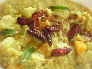 ONAM SPECIAL 2012 - Koottucurry - Vegetables Cooked With Chilly & Coconut Paste