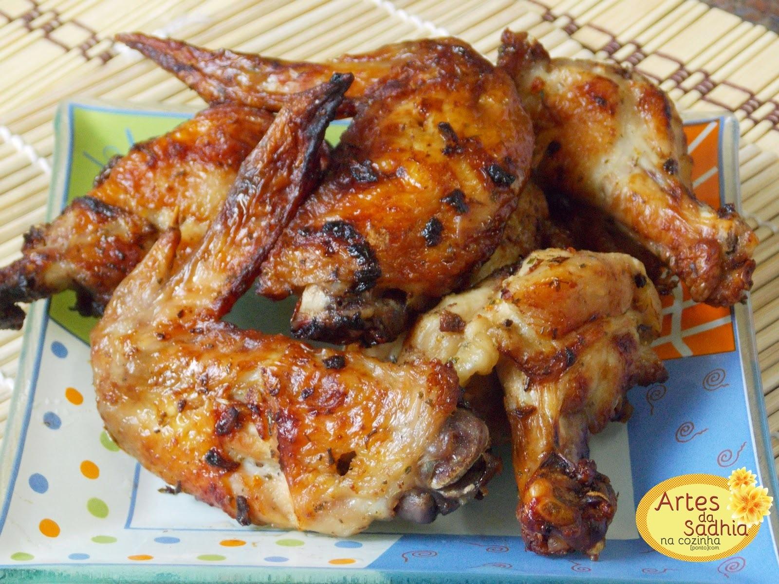 de asa de frango crocante