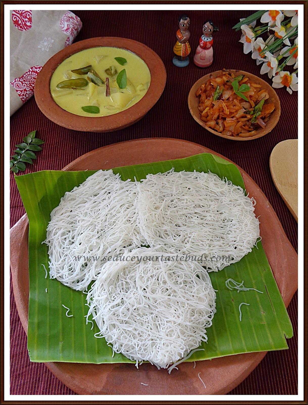 Sri Lankan Idiyappam