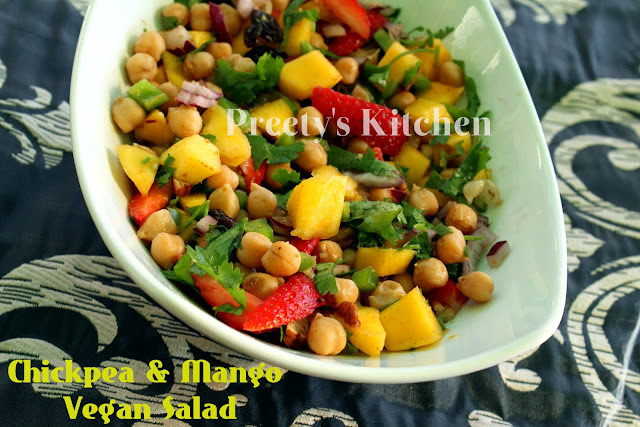 Chickpea & Mango Vegan Salad / Side Dish