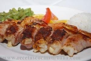 Recetas  de Comida Mexicana Camarones rellenos