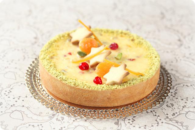 Чизкейк с белым шоколадом и цукатами / Cheesecake de chocolate branco com frutas cristalizadas