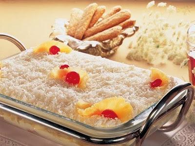 Torta de abacaxi gelada