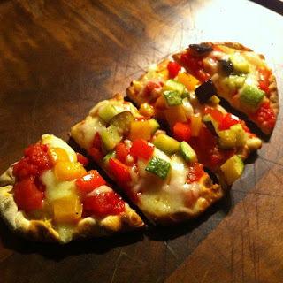 Pizza! mini pizza para couvert ou petiscos.