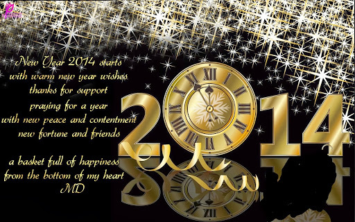 ~~**~~ HAPPY NEW YEAR 2014~~**~~