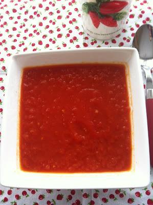 Pasta Fresca Con Jamón Y Tomate